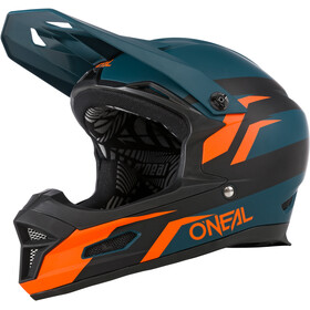O'Neal Fury RL Kask rowerowy, stage-petrol/orange